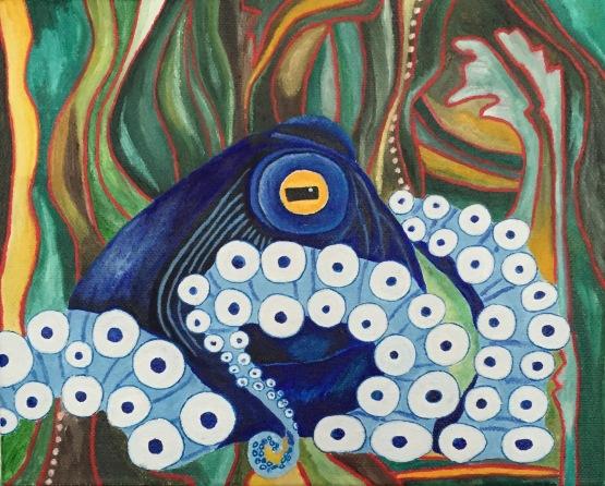 Octopus: Blue