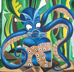 Octopus: Oops! (sold)