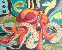Octopus: Orange