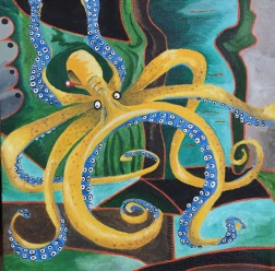 Octopus: Yellow (SOLD)