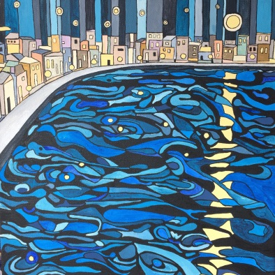 'Night moon' 2016 (sold)