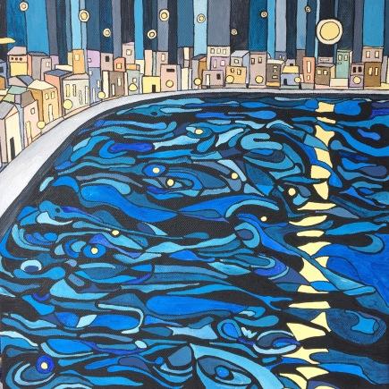'Night moon' 2016 (sold)
