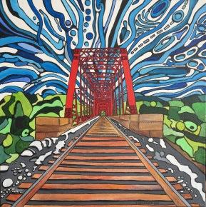 'Red Bridge' 2016