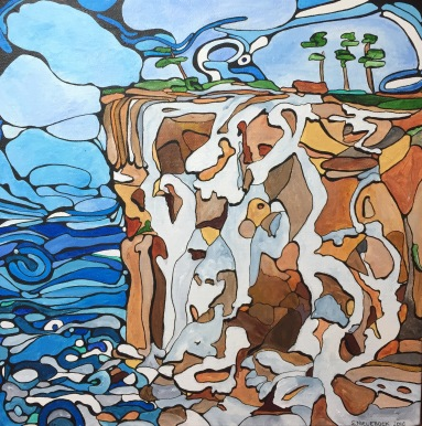 'Waterfall' 2017 (sold)