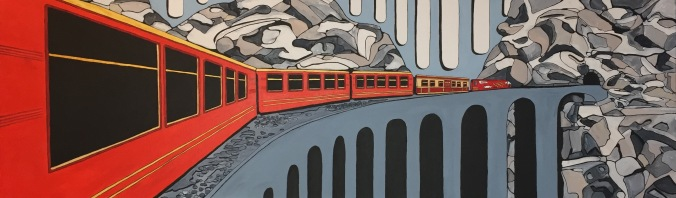 'Vermillion train' 2017