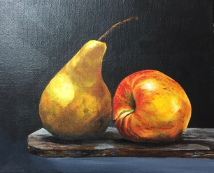 'Apple and Pear' 2016