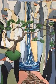 'Water falls' 2017 (sold)