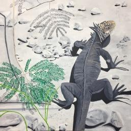 'Iguana' 2017 (sold)