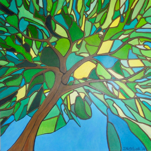 'Green Tree' 2017 (sold)