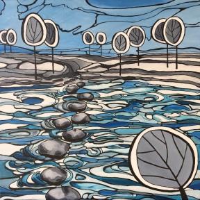 'Blue lagoon' 2018