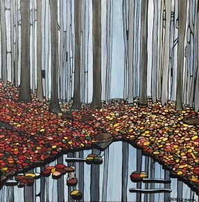 'reflections' 2018 (sold)