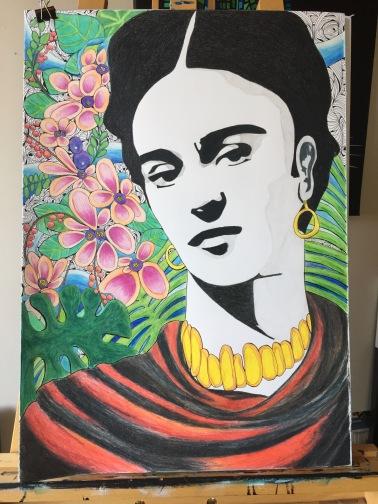 Frida( private commission)